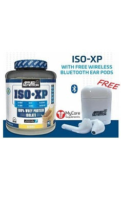 Applied Nutrition ISO XP Whey Protein Isolate + FREE ear buds web