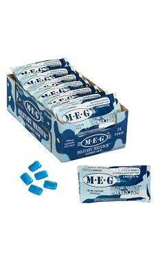 Military Energy Gum Caffeine chewing gum MEG Arctic Mint