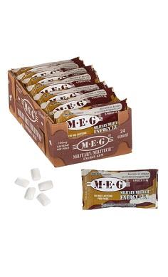Military Energy Gum Caffeine chewing gum MEG cinnamon