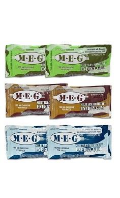 Military Energy Gum Caffeine chewing gum MEG caffeine gum