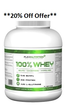 Flexi Nutrition 100% whey protein