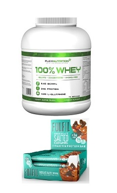 Flexi Nutrition 100% whey protein fulfil