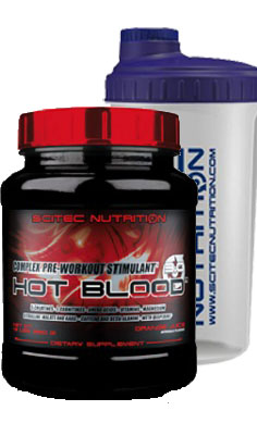 Scitec Nutrition Hot Blood Pre-workout 2