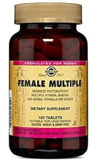 Solgar Female Multiple Multivitamin Tablets