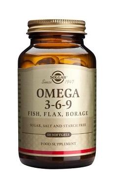 Solgar Omega 3 6 9 Softgels