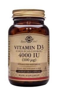 Solgar Vitamin D3 4000IU 100ug