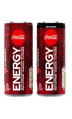 Coca Cola Energy Drink sugar free caffeine