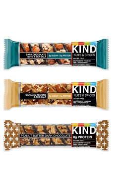 Kind nut bar protein from real food