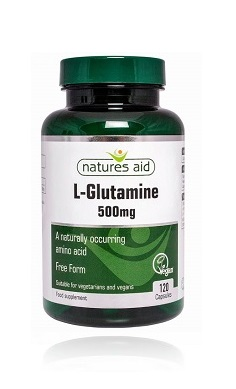 Natures Aid L-Glutamine 500mg