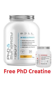 PhD Synergy Iso 7 Complete Protein Recovery All in one offer