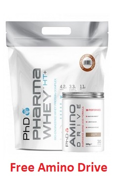 phd nutrition pharma whey protein offer