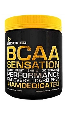 Dedicated Nutrition BCAA Sensation 345g