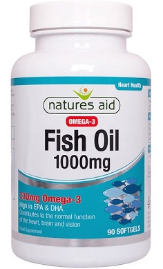 Natures Aid Fish Oil omega 3