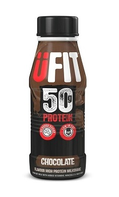 Ufit 50g Protein Shake Drink RTD (Ready to Drink) - 500ml