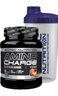 scitec Nutrition Amino Charge BCAA EAA Preworkout 2