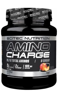 scitec Nutrition Amino Charge BCAA EAA Preworkout Aminos