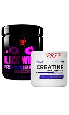 spider labz black widow preworkout free ostrovit creatine