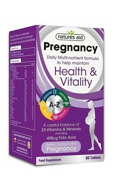 Natures Aid pregnancy multivitamin