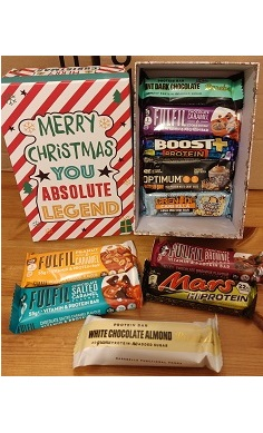 Protein bar selection box