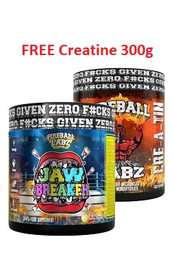 Fireball Labz Jaw Breaker Pre-workout offer