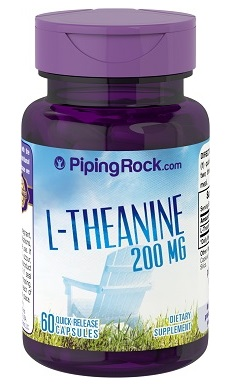 PipingRock L-Theanine 200mg