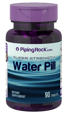 PipingRock super strength water pill
