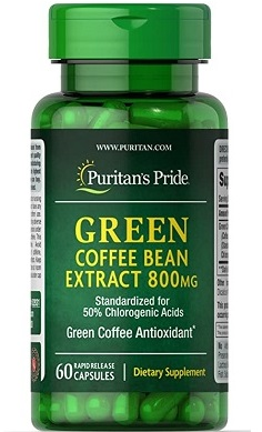 Puritan's Pride Green Coffee Extract 800mg