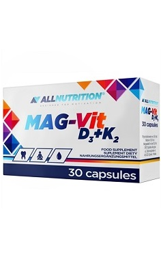 All Nutrition Magnesium - Vitamin D3 + K2
