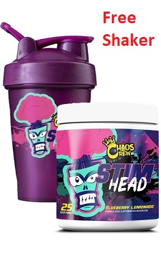 Chaos Crew Stim Head Preworkout offer