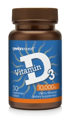 Newton Everett Vitamin D3 10000iu