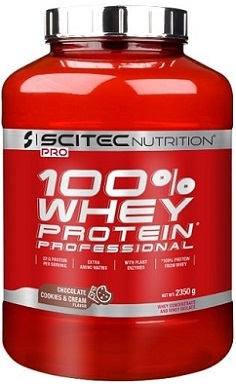 scitec Nutrition 100 whey protein professional