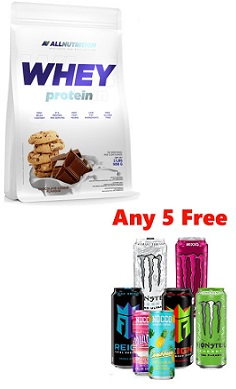 All Nutrition whey protein 2.27kg free monster offer