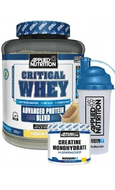 Applied Nutrition Critical Whey Protein + FREE creatine + shaker
