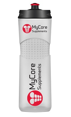 MyCore Supplements sports water bottle