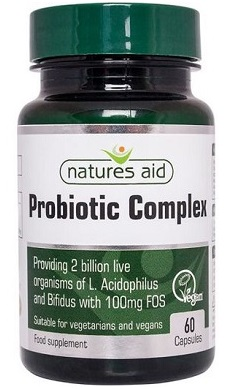 Natures Aid Probiotic Complex 90 Caps