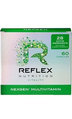 Reflex Nutrition Nexgen Pro Vitality Multivitamin