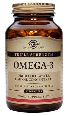 Solgar Triple Strength Omega 3 Softgels