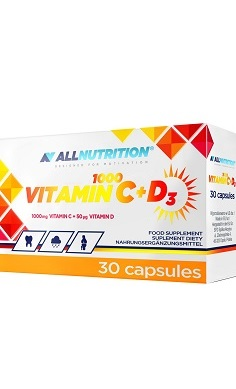 all nutrition vitamin c + Vitamin d3