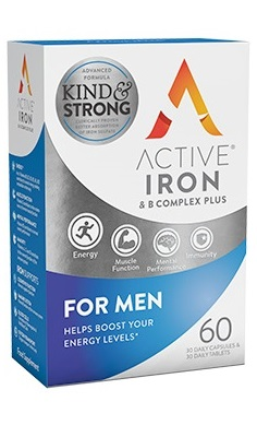 Active Iron & B Vitamin Complex Plus for Men