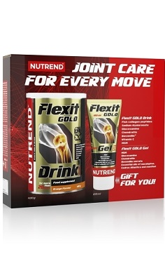 Nutrend Flexit Gold Drink + Flexit Gold Gel - MSM Glucosamine collagen