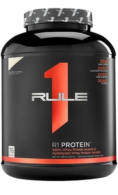 Rule1 R1 protein whey isolate