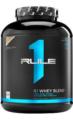 Rule1 R1 whey blend protein