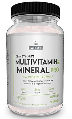 SUPPLEMENT NEEDS MULTI VITAMIN AND MINERAL Pro