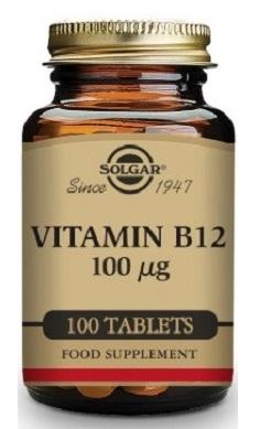 Solgar Vitamin B12 100mcg