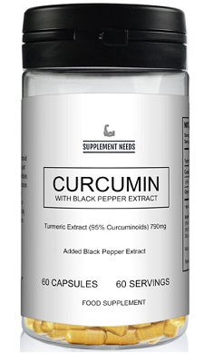 Supplement Needs Curcumin with black pepper extract