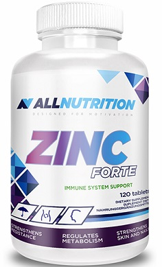 All Nutrition Zinc Forte Tablets
