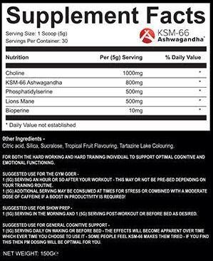 Strom SupportMax Neuro label