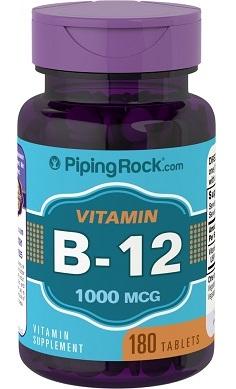 PipingRock Vitamin B12 1000mcg