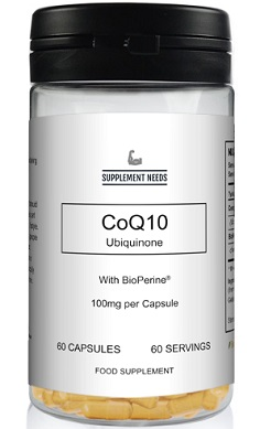 SUPPLEMENT NEEDS CoQ10 Ubiquinone with BioPerine