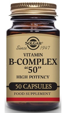 Solgar Vitamin B Complex 50 High Potency